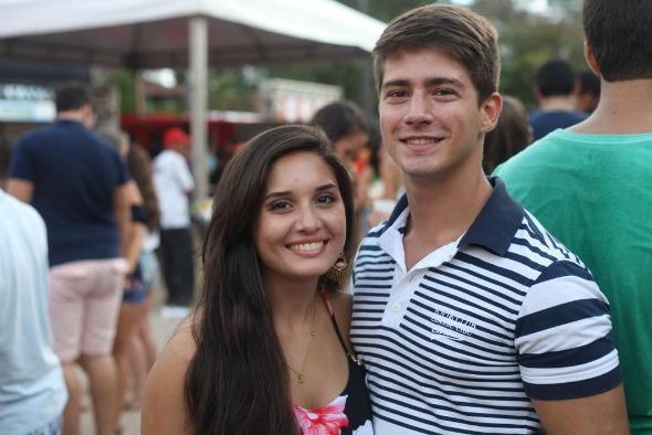 Ana Luisa Braga e Filipe Coutinho. Crédito: Vinícius Ramos/Vagalume Comunicação