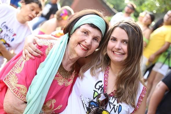 D. Fernanda e Mirella Dias - Crédito: Gleyson Ramos/Divulgação