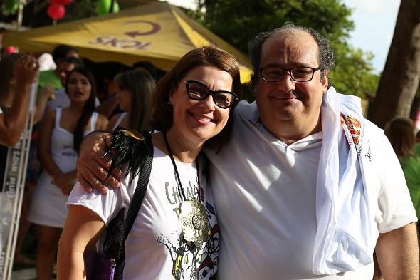 Marcelle Farias e Gari Chianca - Crédito: Gleyson Ramos/Divulgação