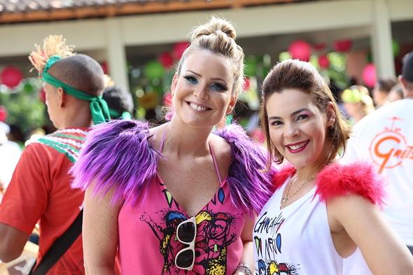 Renata Falcão e Cassia Alves  - Crédito: Gleyson Ramos/Divulgação