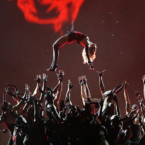 Apresentação de Madonna no Gramy 2015. Crédito: Reprodução Instagram