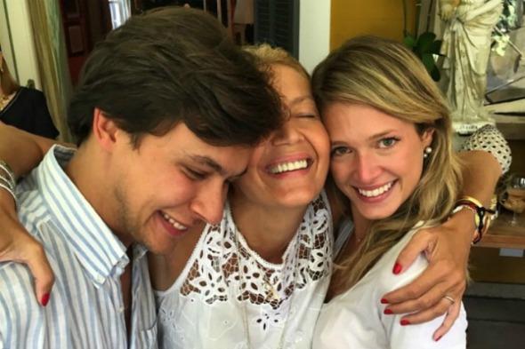 Humberto, Donata e Helena Bordon -  Foto: Instagram/Reprodução