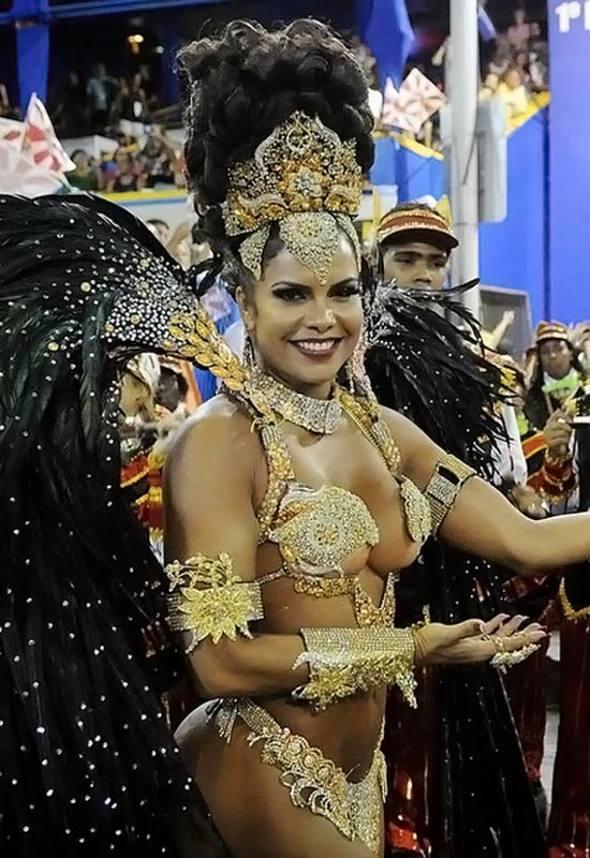 Raissa Machado/Rainha Viradouro/Facebook/Reprodução