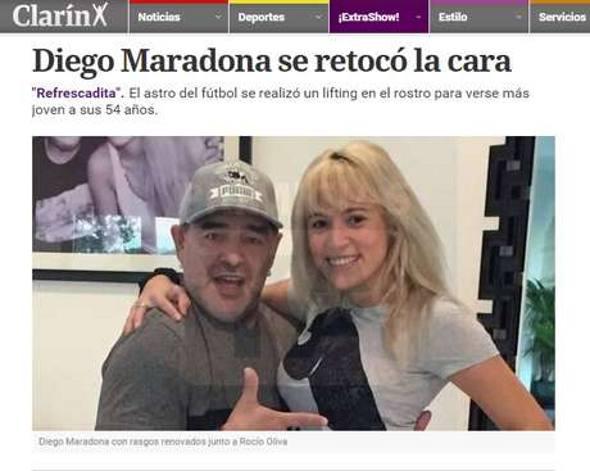Maradona/Reprodução