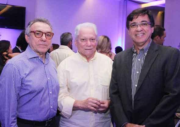 Afrizio Melo, Antônio Carlos Vieira e Angelo Melo - Crédito; Nando Chiappetta/DP/D.A Press