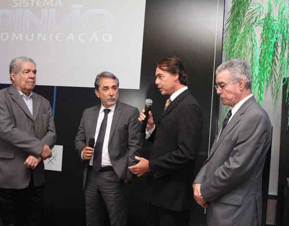 Joezil Barros, Guilherme Machado, Gutho Barreto e Gladstone Vieira - Crédito: Nando Chiappetta/DP/D.A Press