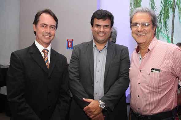Gutho Barreto, Alano Vaz e Doryan Bessa - Crédito; Nando Chiappetta/DP/D.A Press