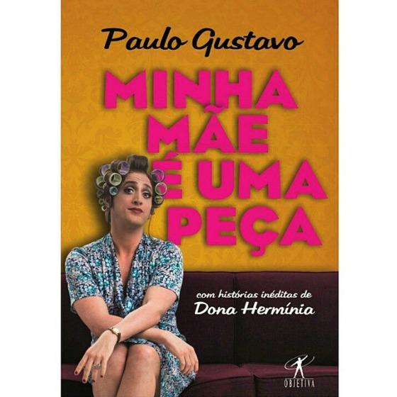 """Capa do livro """"Minha mãe é uma peça"""". Crédito: Reprodução Instagram"""