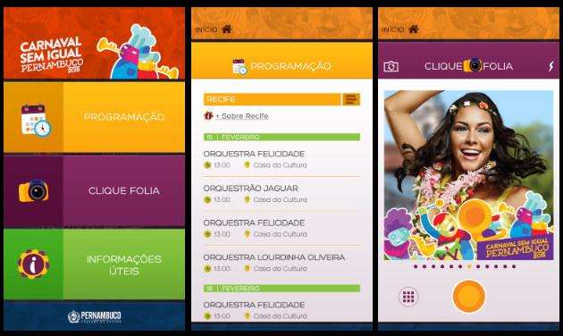 Aplicativo Carnaval sem Igual - Crédito: Reprodução da internet/Divulgação