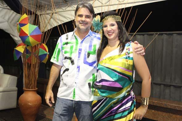 Raul Henry e Luiza Nogueira - Crédito: Nando Chiappetta/DP/D.A Press