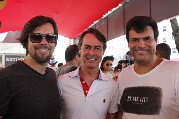 Henrique Kirilauskas, Gutho Barreto, Alano Vaz.  Créditos: Ricardo Fernandes/DP/DA.Press