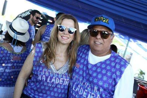 Andréa e José Pinteiro. Crédito: Gleyson Ramos e Felipe Ribeiro