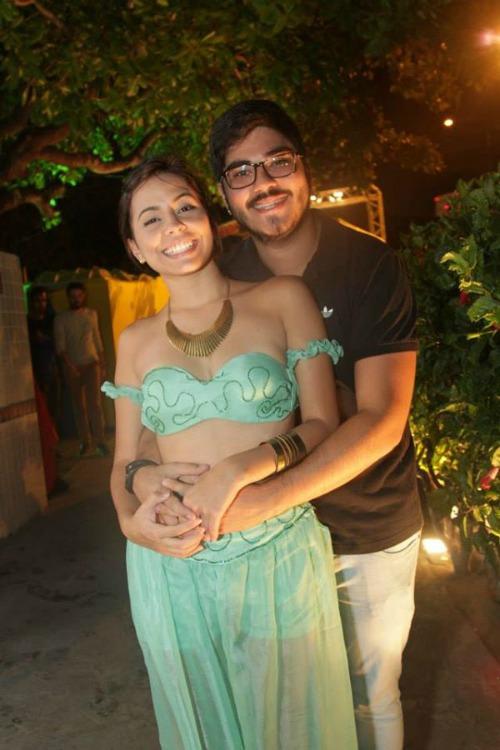 Daniel Forn e Aline Mendes. Crédito: Máquina3/Divulgação