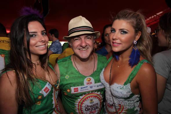 Tammy Saad, Oscar Gundes e Iris Stefanelli - Foto: Roberto Ramos/Dp/D.A Press