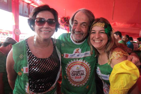 Berenice Andrade Lima, Cadoca Pereira e Milu Megale
