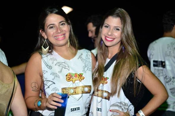 Raissa Guedes e Michelle Aldred. Crédito: Larissa Nunes/ Vagalume