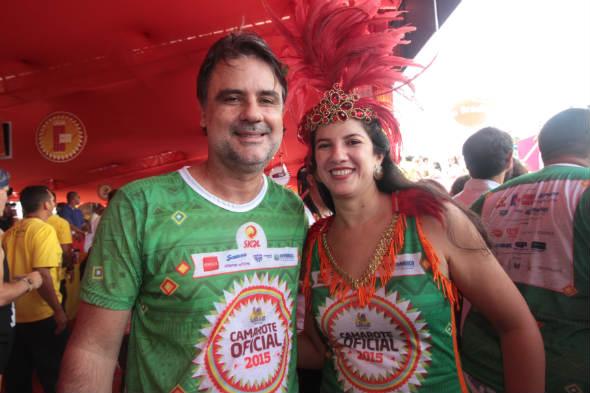 Raul Henry e Luiza Nogueira - Foto: Roberto Ramos/DP/D.A Press