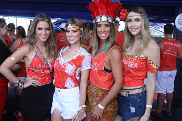 Isabelle Leite, Duda Dubeux, Renata Barroca e Bruna Monteiro. Crédito: Nando Chiappetta/DP/D.A Press