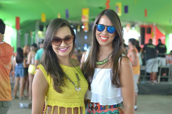 Jaqueline Vaz e Jessica Tereza. Crédito: Vinicius Ramos/Divulgação