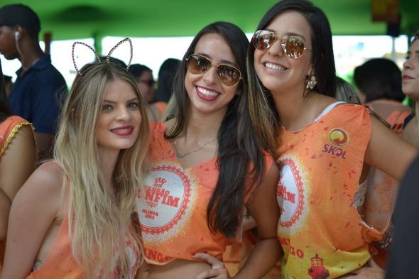 Valeria, Mabel Monte e Nicole Vick. Crédito: Vinicius Ramos/Divulgação