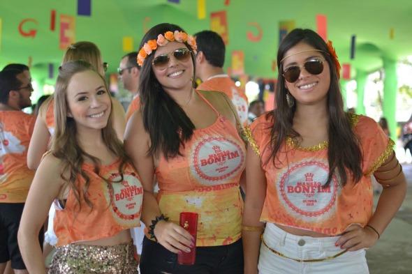 Carolina Mesquita, Natália Andrade e Marcela Chalaça. Crédito: Vinicius Ramos/Divulgação