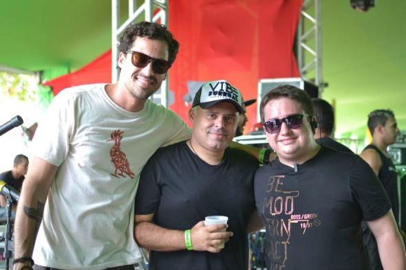 Rafael Figlioulo, Renato Feitosa e Fofão. Crédito: Vinicius Ramos/Divulgação