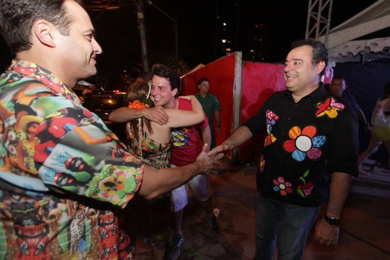 Paulo Câmara e Danilo Cabral