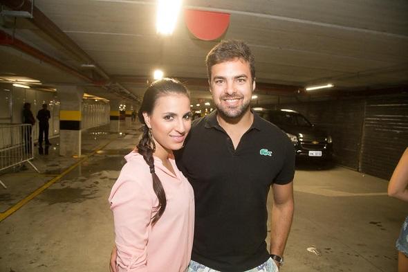 Ednay Valente e Rayana Bevilacqua - Crédito: Humberto Reis/Divulgação