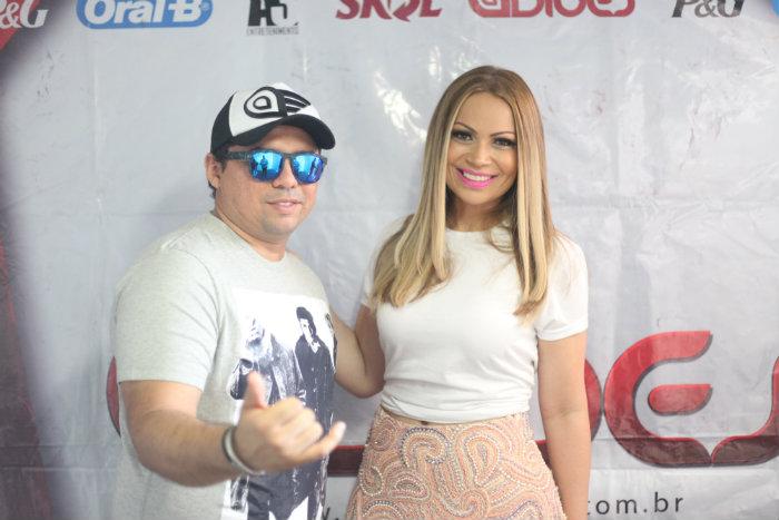 Xande e Solange Crédito: Vinícius Ramos/Vagalume Comunicação