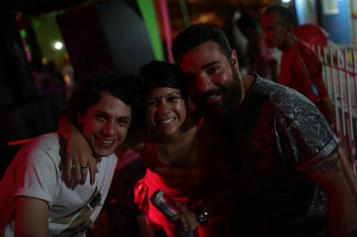 Djs Thiago de Renor, Lúcio Morais e Luana Lima Créditos: Celo Silva/ Vagalume Comunicação