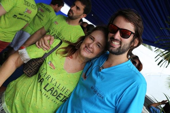 Fátima e Jorge Peixoto - Crédito: Felipe Ribeiro/Divulgação