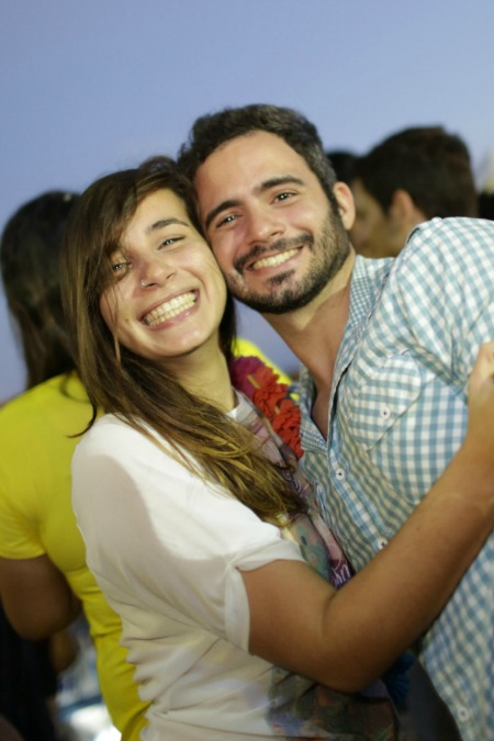 Gracielly Sá e Caio Oliveira. Crédito: Celo Silva/Divulgação