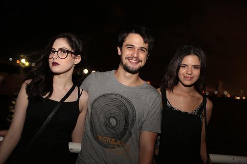 Jessica Santos, Bernardo Morais e  Gabriella Rositer Créditos: Celo Silva/ Vagalume Comunicação