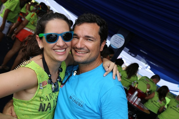 Marina e Geraldo Bandeira -  Crédito: Felipe Ribeiro/Divulgação
