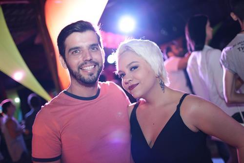Rodrigo Porto e Poli Franklin Créditos: Celo Silva/ Vagalume Comunicação