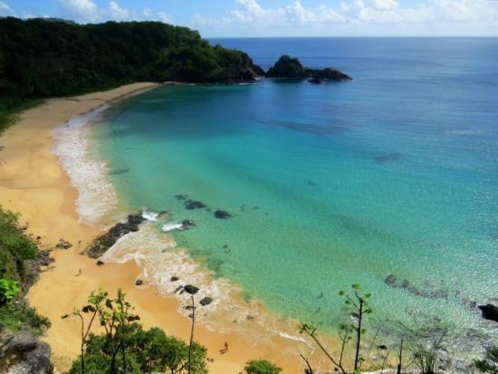 Praia do Sancho. Crédito: Ana Clara Marinho/TV Globo