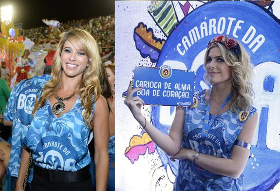 Dani Bananinha e Julia Faria - Crédito: Camarote Boa - Antartica/ Divulgação