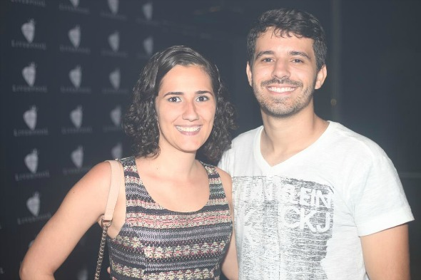 Bruna Caribé e Rafael Maciel. Crédito: Vinicius Ramos