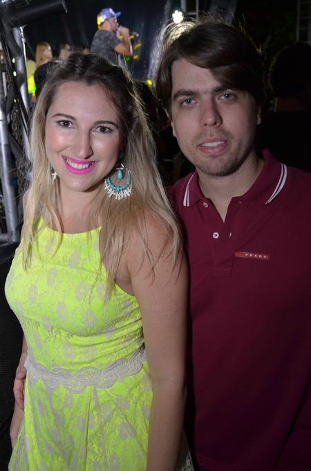 Ciro Couceiro e Luana Falcão. Crédito: Ricardo Moreira/Divulgação