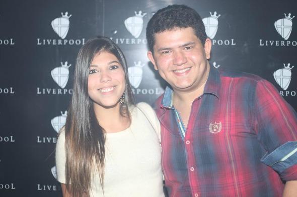 Maria Eduarda Beltrão e Hellio Gurgel. Crédito: Vinicius Ramos