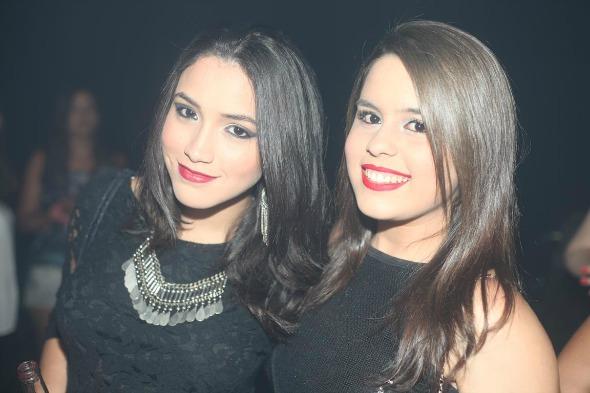 Letícia Bastos e Amanda Rego. Crédito: Vinicius Ramos