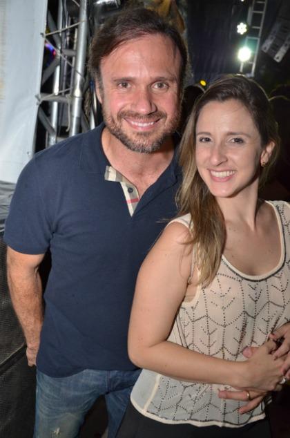 Waldemar Valente e Dayanna Ximenez. Crédito: Ricardo Moreira/Divulgação