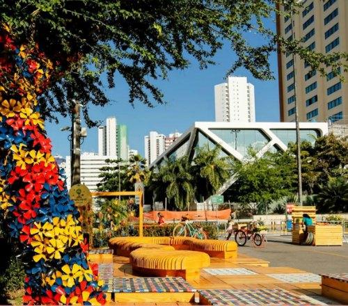 Pracinha Recife  Créditos: Reprodução Facebook do Shopping Recife