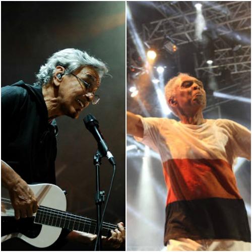 Caetano e Gil se unem para turnê internacional - Crédito: Heitor Cunha/ Julio Jacobina / DP / D.A Press