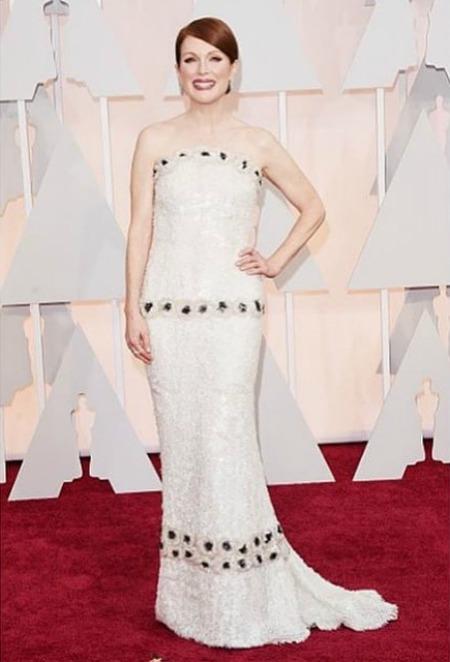 Julianne Moore, vencedora da estatueta de Melhor Atriz. Crédito: Reprodução Instagram