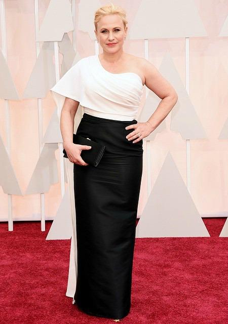 Patricia Arquette, vencedora da estatueta de Melhor Atriz Coadjuvante. Crédito: Reprodução Instagram