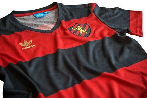 Nova camisa do Sport. Crédito: Reprodução/Facebook