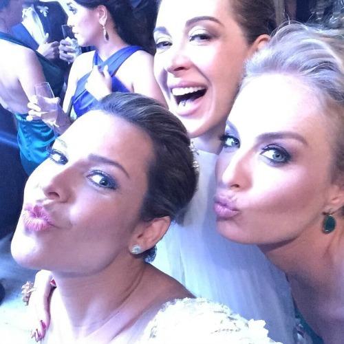 Fernanda Souza, Claudia Raia e Angélica. Crédito: Reprodução Instagram