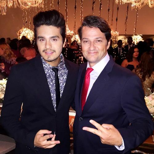 Luan Santana e Marcelo Serrado. Crédito: Reprodução Instagram
