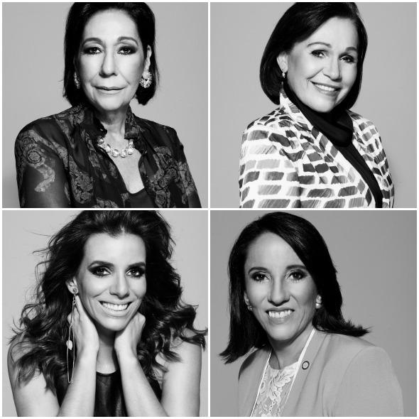 Lúcia Spessatto, Maria José de Sena, Mirella Martins e Daisy Andrade estão entre as homenageadas. Créditos: Renato Filho/ Divulgação